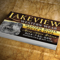 Hobson auto sales business cards logo advantage lakeview western wear business cards colourmoves